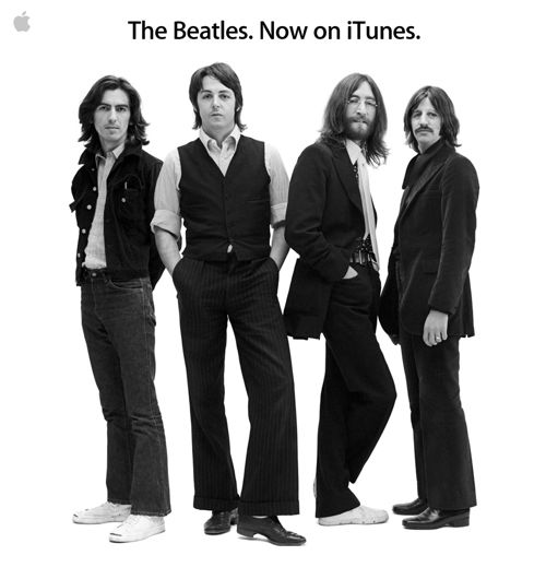 The Beatles Invade iTunes