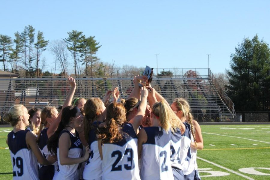 The Porkers celebrate after winning the South Sectional Championship.