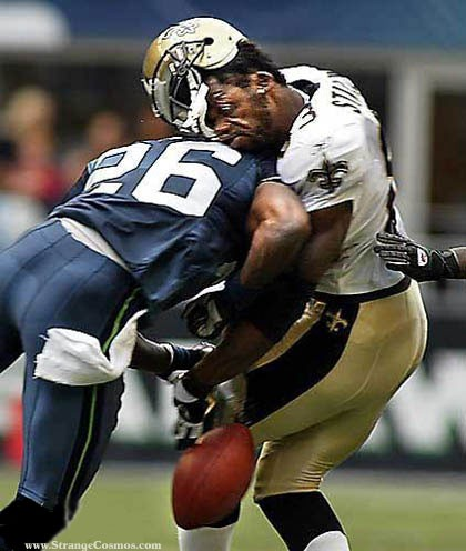 In the NFL, concussions have become a serious problem and the safety of the players has been made a priority.