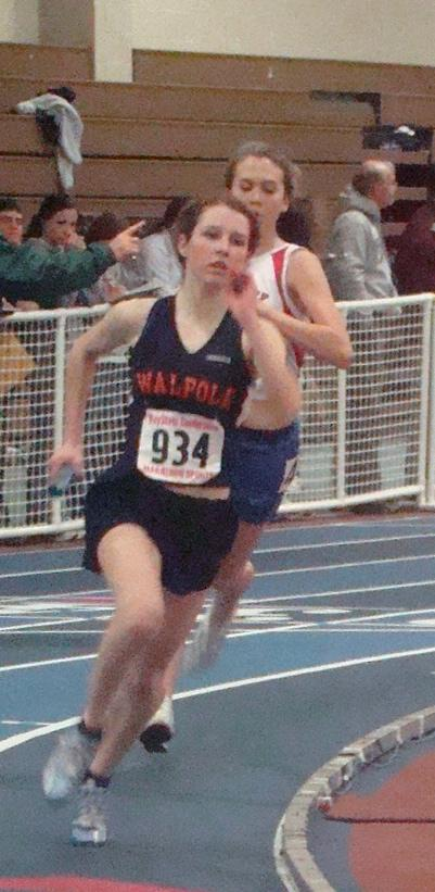 Walpole Girls Track Places Second in League
