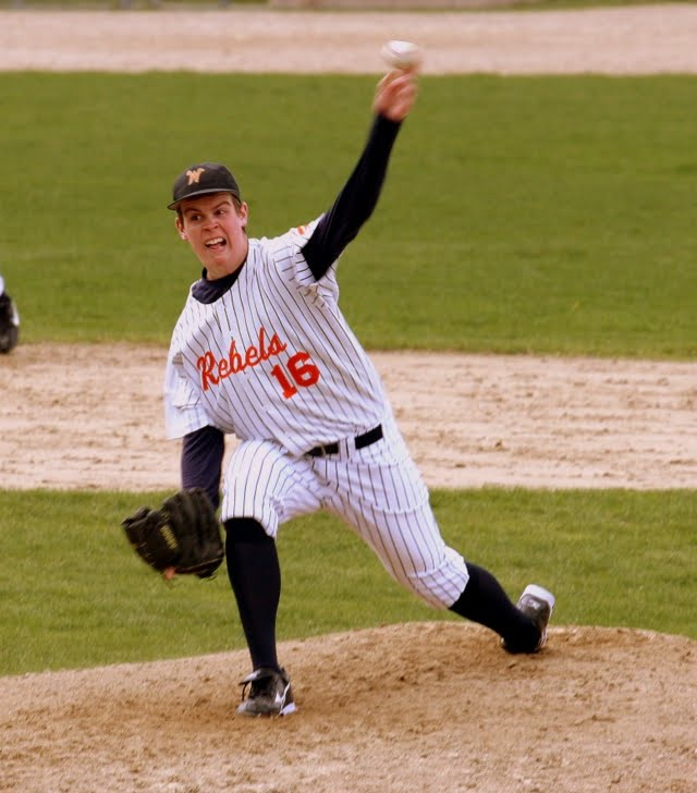 A strong performance by Walpole's pitching staff wasn't good enough for the bats of Mansfield. (Photo/Greg Salvatore)