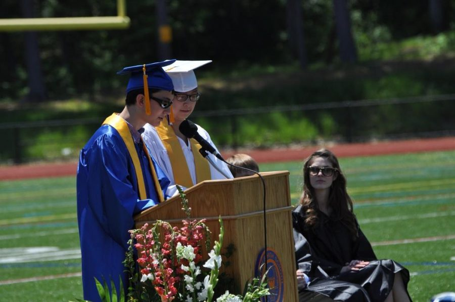 Josh Cofsky and Stephanie Ng Put a New Twist on the Graduation Speech