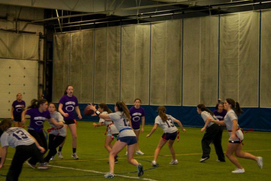 Annual Powder Puff Game Unites Junior and Senior Girls