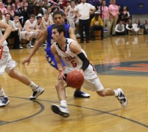 Mike Tempesta's performance on his senior night was one of the best Walpole High has seen. (Photo/James Cullinane)