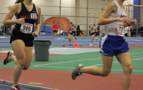 Walpole Girls Indoor Track Defeats Wellesley For First Time in 20 Years