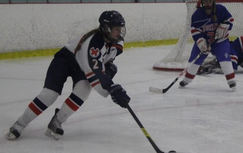 Brookline Proves to Be Easy Competition for Girls Hockey