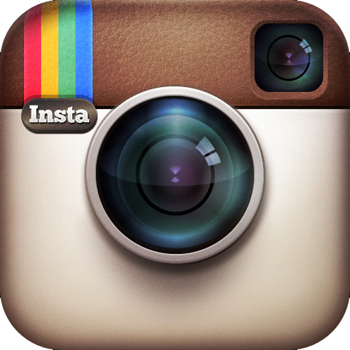 The sleek icon for the Instagram app.