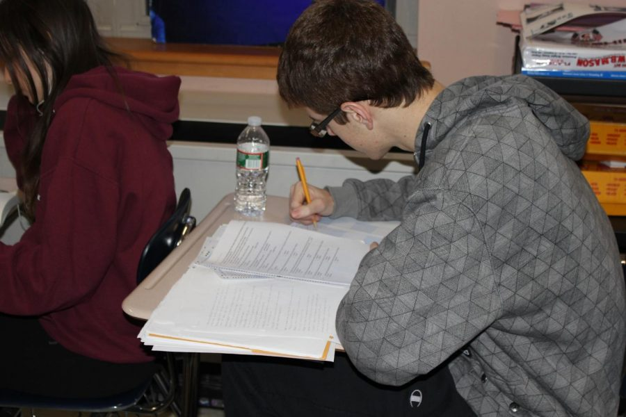 Midyears are an essential part of the high school curriculum. (Photo/Russell Ollis)