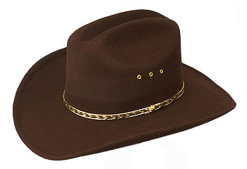 Whoever 'wins' the cowboy hat was the hardest worker in the previous game.