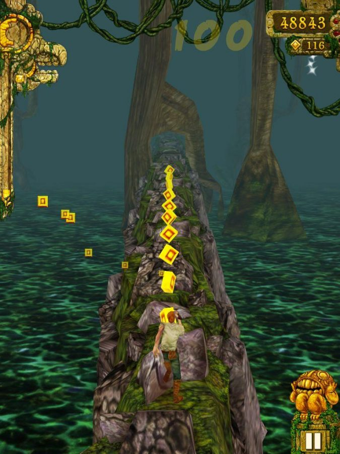 Temple Run Laps the Competition