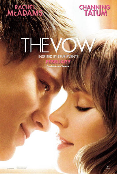 The Vow, Released on February 10, 2012, Fails to Fulfill its Potentioal