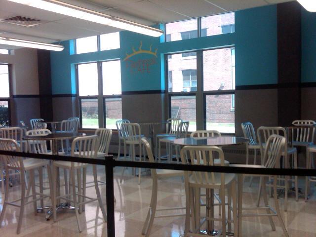 Walpole High School cafeteria