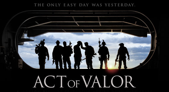 Starring Real Life Navy SEALs, Act of Valor is a Movie Unlike Any Other.