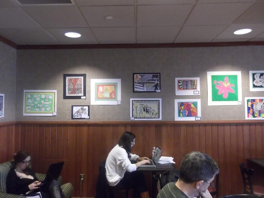 Barnes and Noble March Art Show