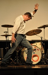 Mr. Connor during his last year's performance of 'The Evolution of Dance.'