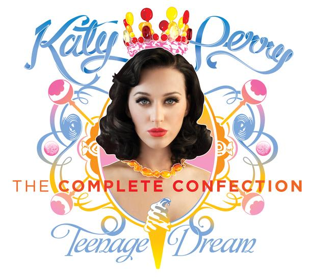 Katy Perry's 'Teenage Dream: The Complete Confection', released on March 23, 2012, features three new singles and four remixes.