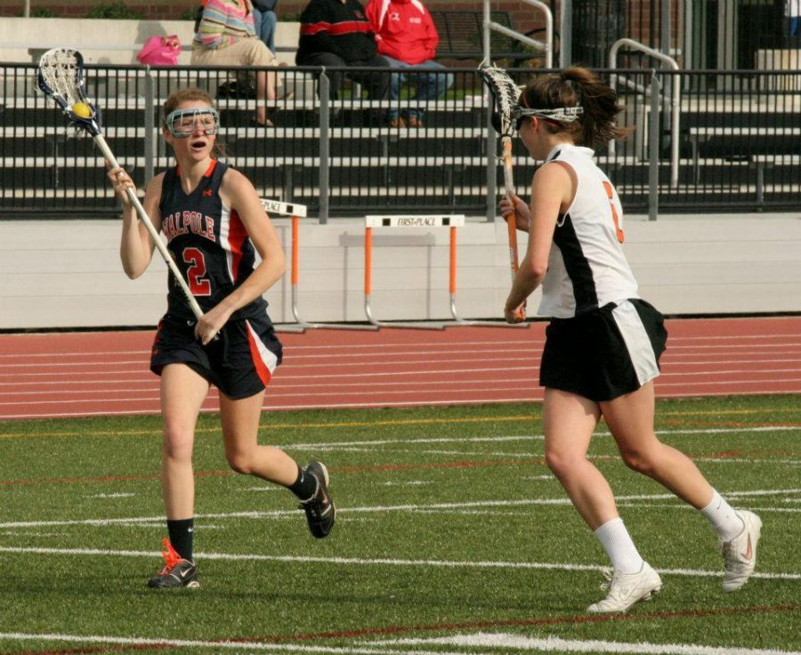 Girls Lacrosse Wins Over Woburn But Loses To A More Talented Notre Dame Academy