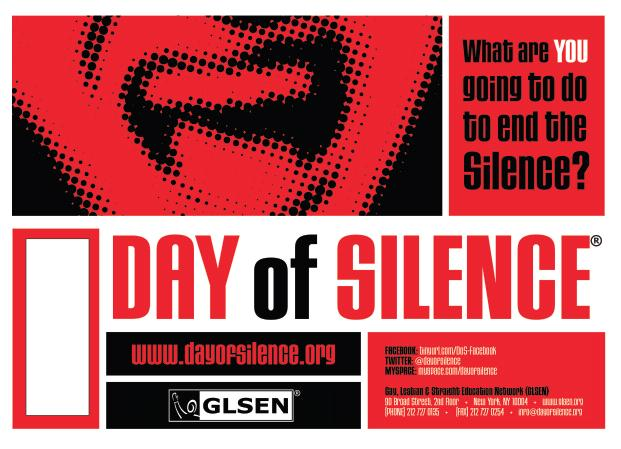 GSA Diversity Club Brings Back Day of Silence