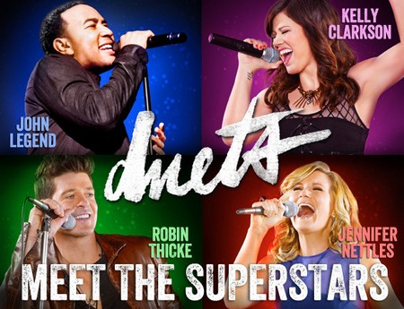 The four celebrity mentors of 'Duets' will set out to find their perfect duet partners.