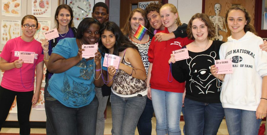 GSA Diversity Club Fights Discrimination with Day of Silence