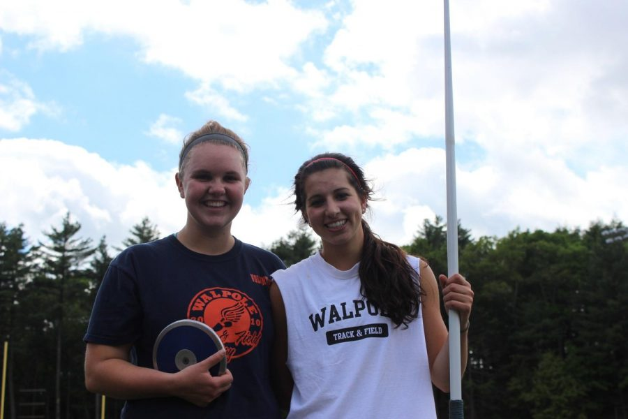 Steph DeSantis and Michelle Monahan Excell in Throwing