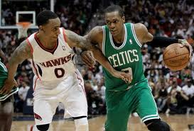 Rondo looks to carry the Celtics into the second round.