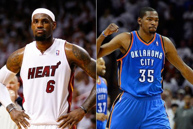 The deciding factor in this years finals is going to be the star power of Miamis LeBron James and OKCs Kevin Durant.