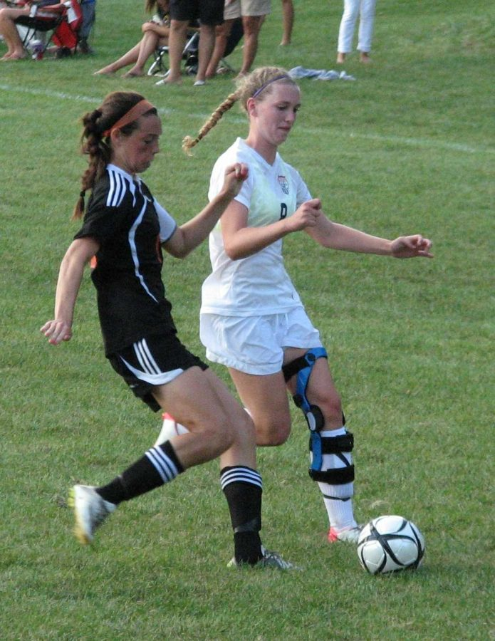 Comiskey Recovers from Torn ACL to Lead Girls Soccer