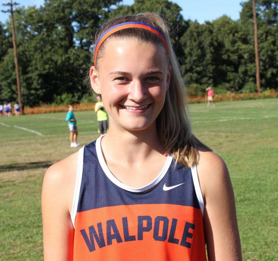 Walpole Girls XC Varsity Team of 2012