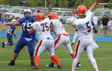 Rebels Football Win in Dominating Fashion Over Wamps