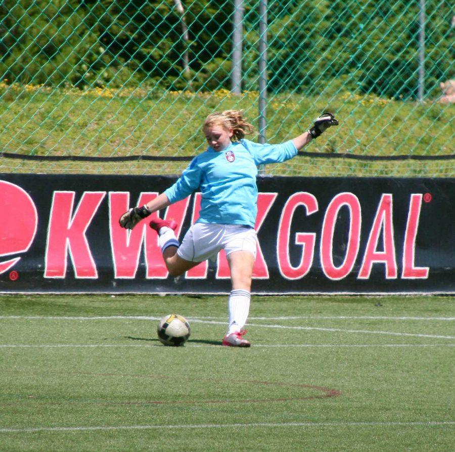 Freshman Keeper Kaitlin Brown Helps Lead Girls Soccer