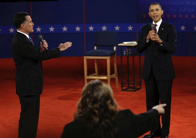 President Obama and Governor Romney both debated each other in a town hall style debate.