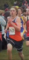 A Walpole runner competes in the Frank Kelley Invitational