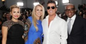 Demi Lovato, Britney Spears, Simon Cowell, and L.A. Reid; this season's XFactor Judges