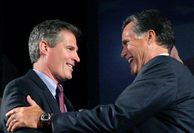 The majority of Walpole residents voted for both Mitt Romney and Scott Brown in the 2012 Presidential Election