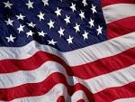The American Flag stands for the freedoms that U.S. citizens have
