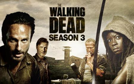 The Walking Dead season three makes its return