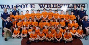 The Youth Walpole Wrestling Team poses for a photo. (Photo/Walpole Rec)