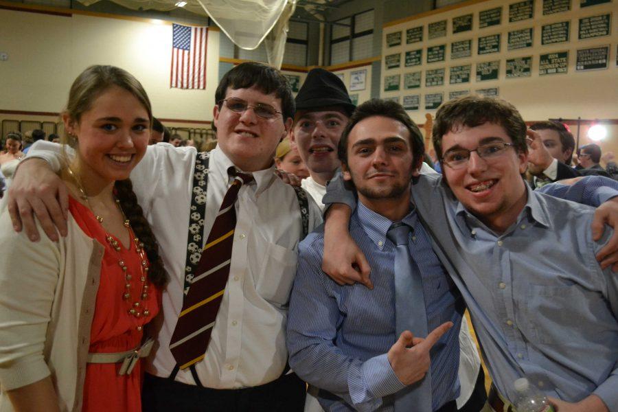 Members of Best Buddies enjoy the dance.