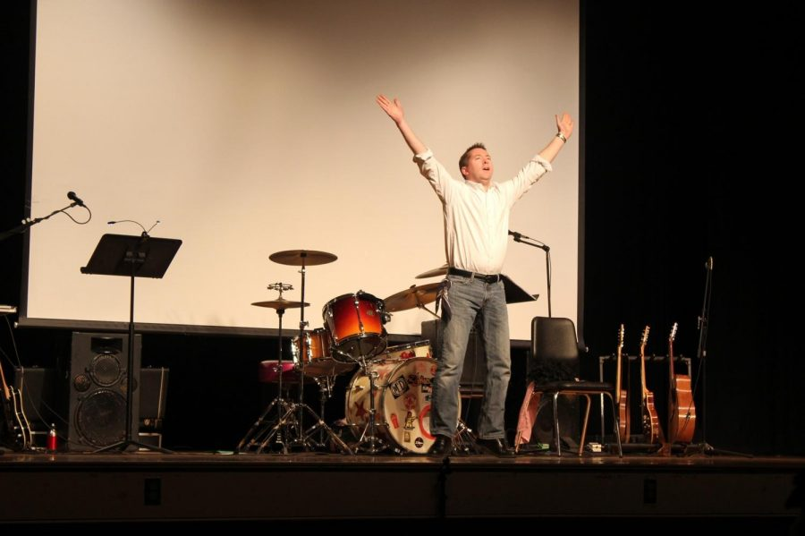 Mr. Connor  performed both signing and dancing routines in the first Student Faculty Theater back in 2011.