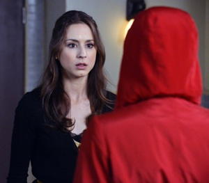 Spencer follows Red Coat in the season 3 finale.