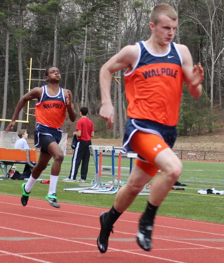Boys Track Comes Out on Top This Time Against Wellesley
