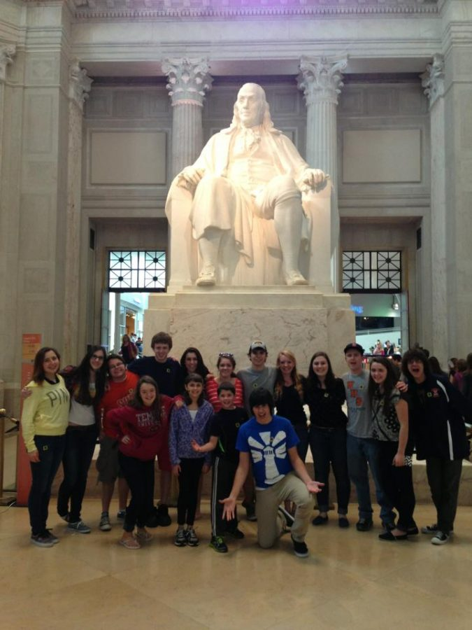 Walpole High Music Department Travels to Philly