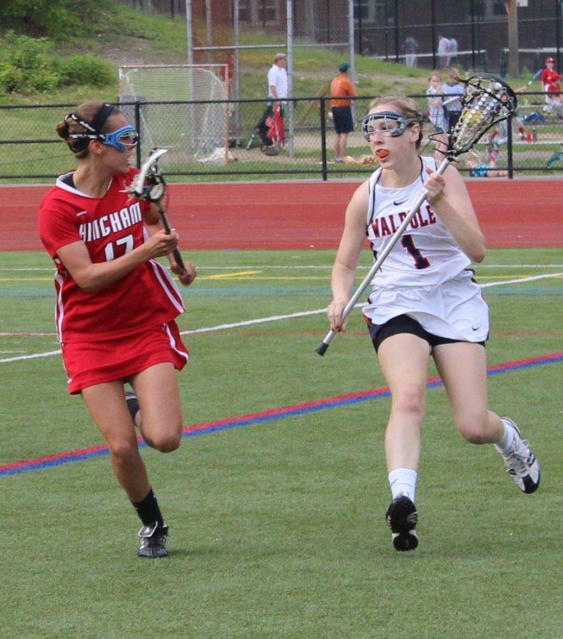 Girls Lacrosse Beats Hingham; Falls to Westwood
