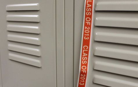 A senior student locker from last year could now belong to a senior of this year because of locker changes.