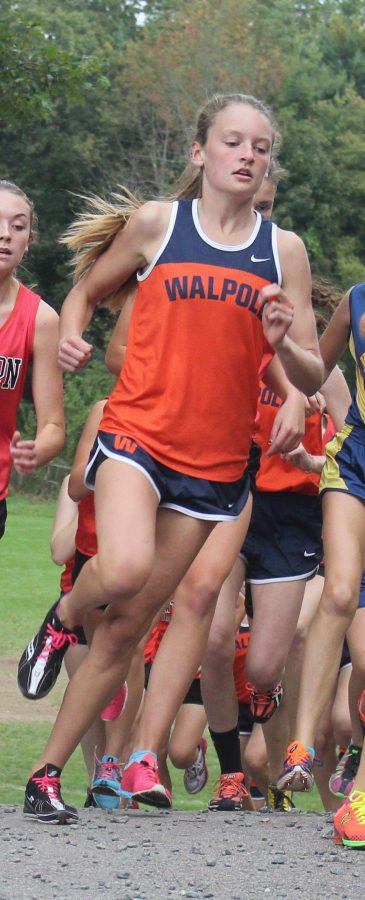 Allie Morris leads the pack in a close race