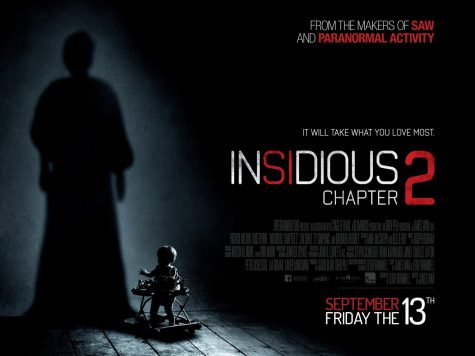 "Promotional poster for the film ""Insidious: Chapter 2"""