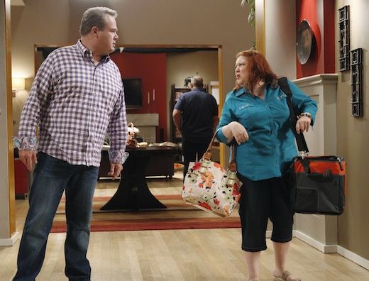 Cam and Pam argue over Cam's sensitivity in