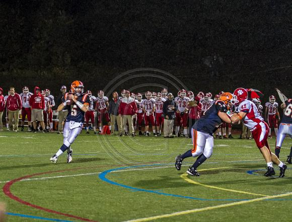 Senior quarterback in last years game against Milton.(Photo/Tim Hoffman)