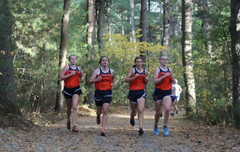 Walpole runners lead the pack.